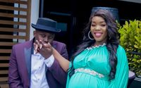 Risper Faith Shares Pictures of Her Newborn Son