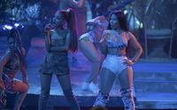 "Nicki Minaj Shows Some Love to  Ariana Grande in Her New Song ""Bust Down Barbiana"""