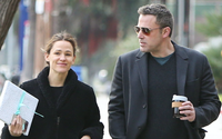 Ben Affleck and Jennifer Garner Share a Smile While Out with Kids