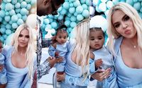 Khloe Kardashian And Ex Tristan Thompson United For Baby True's First Birthday