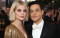 Rami Malek Spotted With Girlfriend Lucy Boynton In Public For The Fist Time Since Being Named As A Bond Villain