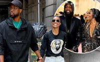 Gabrielle Union And Her Husband Dwyane Wade Looked Anything But Tired Following A Glamorous Night Out At The Met Gala As The Couple Enjoyed A Relaxing Stroll In New York City