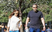 Ben Affleck And Jennifer Garner Spotted Out And About In Los Angeles In Casual Wears