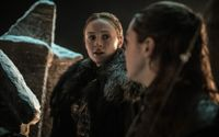 In The New 'Game Of Thrones' Teaser Photos, Who Is Lurking Behind Sansa?